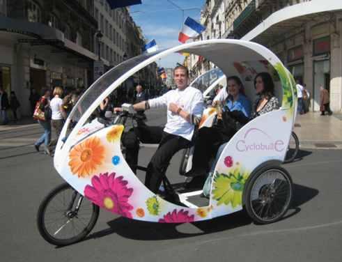 Paris dans l'oeil d'une Québécoise
