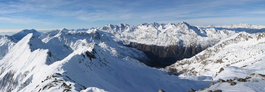Faire du ski dans les Alpes Orobie